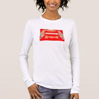 da'vyによるHawgheadのブランドのチカソーのTシャツ 長袖Tシャツ