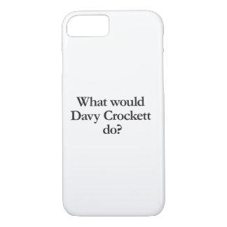 davy crockettする何が iPhone 8/7ケース