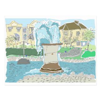 Dawlishの噴水 ポストカード