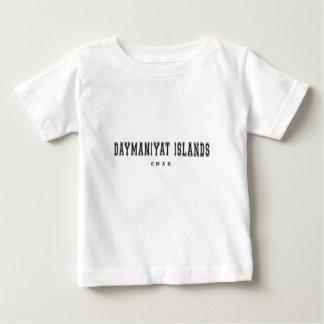Daymaniyatの島オマーン ベビーTシャツ