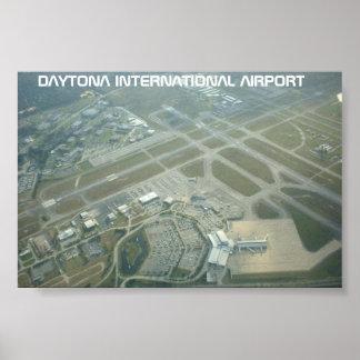 Daytonaの国際空港 ポスター