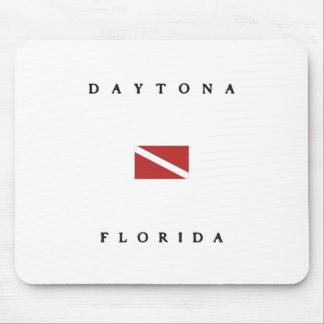 Daytonaフロリダのスキューバ飛び込みの旗 マウスパッド