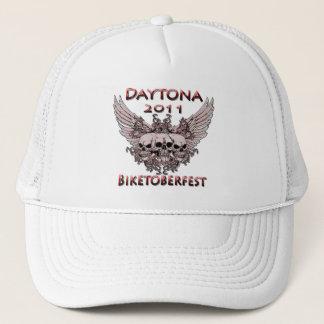 Daytona 2011の赤いスカル キャップ
