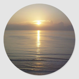 Daytona Beachの日の出 ラウンドシール