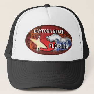 Daytona Beachフロリダのサーファーの芸術の帽子 キャップ