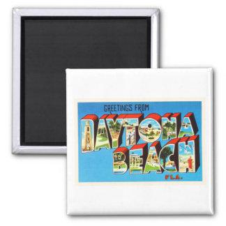 Daytona BeachフロリダFLのヴィンテージ旅行記念品 マグネット