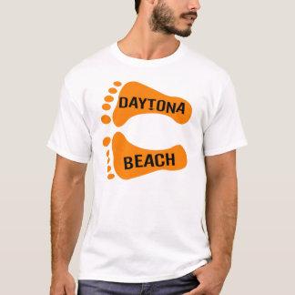 Daytona Beach裸足の Tシャツ