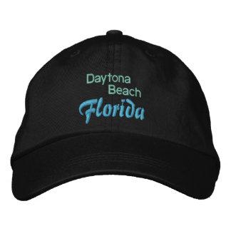DAYTONA BEACH 1つの帽子 刺繍入りキャップ