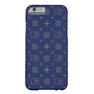 DBデイヴィッドの小川の電話箱(青および黄色) BARELY THERE iPhone 6 ケース