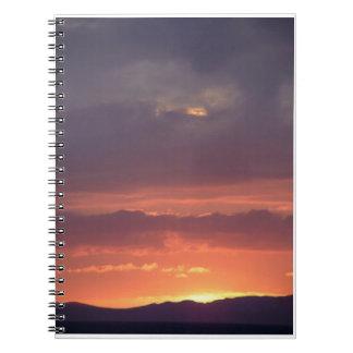 db4dawnによる日没のノート ノートブック
