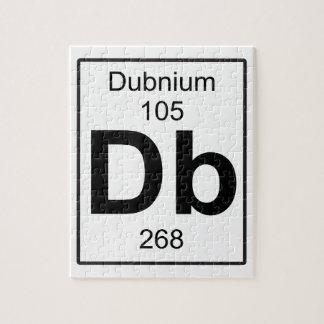 Db - Dubnium ジグソーパズル