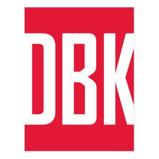 DBKのスワッグ ポストカード
