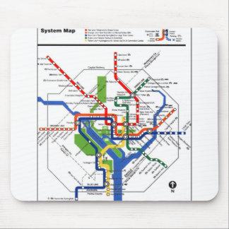 DCの地下鉄 マウスパッド