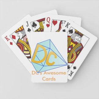 DCの素晴らしいカード トランプ