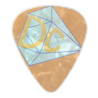 DCの素晴らしいギターピック パールセルロイド ギターピック