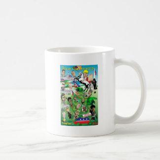 DCを流出させて下さい コーヒーマグカップ