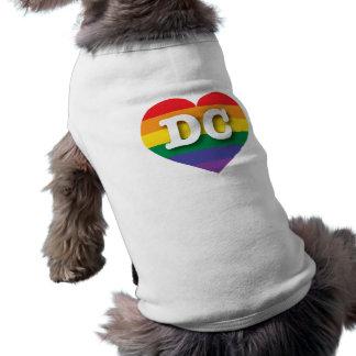 DCゲイプライドの虹のハート-大きい愛 ペット服