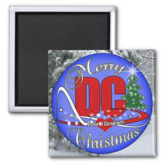 DC -カイロプラクティックのクリスマスのオーナメントの医者 マグネット