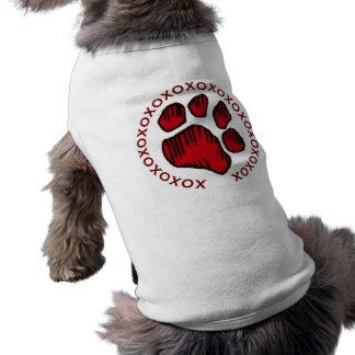 DDのI愛私の犬!! 犬のTシャツ ペット服
