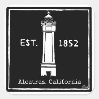 DD117 ALCATRAZの灯台、カリフォルニア米国東部標準時刻1852年 スクエアシール