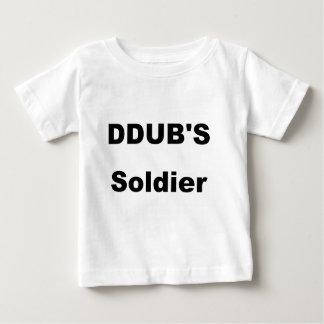ddubの兵士 ベビーTシャツ