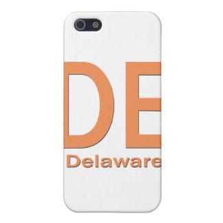 DEデラウェア州の明白なオレンジ iPhone 5 ケース
