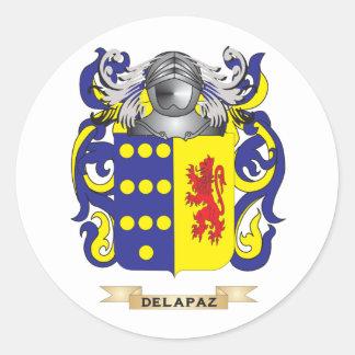 deラパスの紋章付き外衣 ラウンドシール