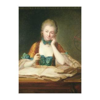de Chatelet-Lomont夫人 キャンバスプリント