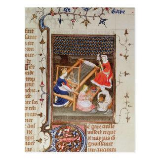 ` De Claris Mulieribus'からのガイアの物語、 ポストカード