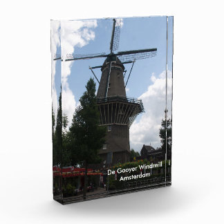 De Gooyer Windmillアムステルダム 表彰盾