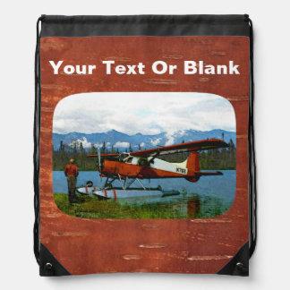 De Havilland Beaver Floatplane -米国 ナップサック
