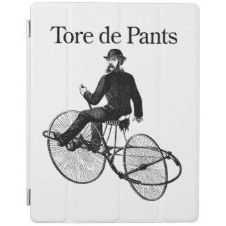 de Pantsを引き裂きました iPadスマートカバー