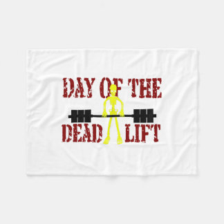 Deadliftの日 フリースブランケット