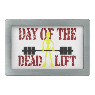 DeadLiftの日 長方形ベルトバックル