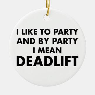 Deadlift セラミックオーナメント