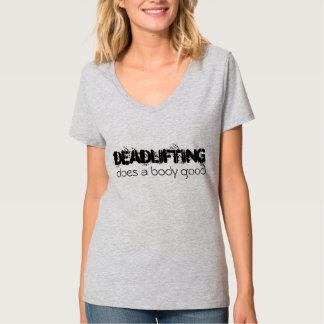 Deadlifting Tシャツ