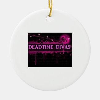 Deadtimeの花型女性歌手のオーナメント セラミックオーナメント