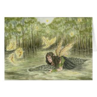 Deanna Bachの芸術による泥地 カード