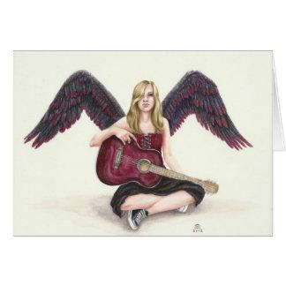 Deanna Bachの芸術による深紅色の天使 カード