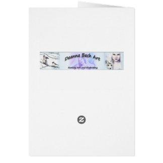 Deanna Bachの芸術による魅了された視野 カード