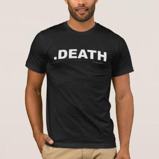 .DEATHの黒人男性のTシャツ Tシャツ