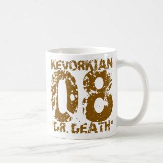 Death 08 Kevorkian先生Death Kevorkian 08の先生/ コーヒーマグカップ