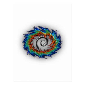 Debianの渦巻 ポストカード