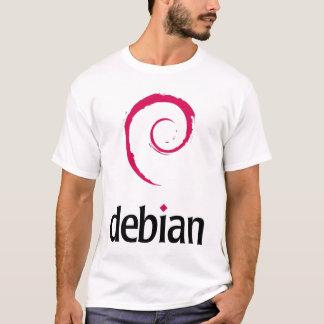 DebianのTシャツ Tシャツ
