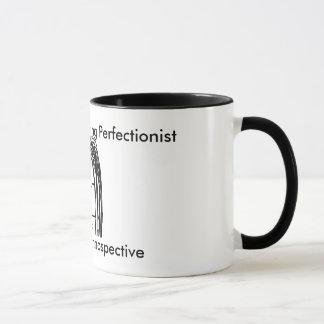 DebW07白黒コーヒー・マグ1のイメージ マグカップ