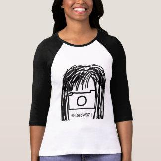 DebW07白黒Tシャツ1のイメージ Tシャツ