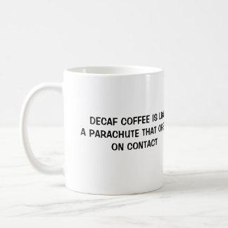 DECAFのコーヒー コーヒーマグカップ