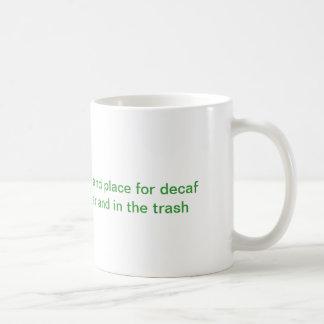 Decafのコーヒー・マグ コーヒーマグカップ