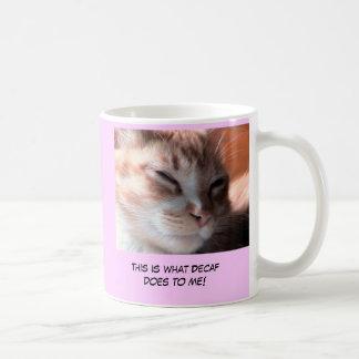 Decafのマグ無し コーヒーマグカップ
