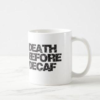 Decafの前の死 コーヒーマグカップ